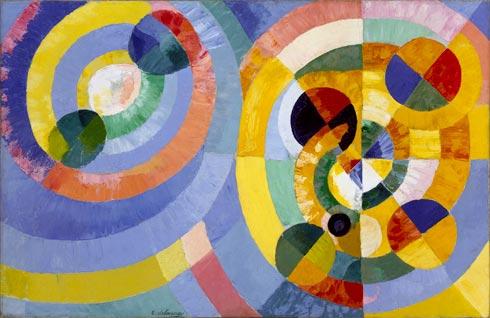 Formas Circulares - por Robert Delaunay