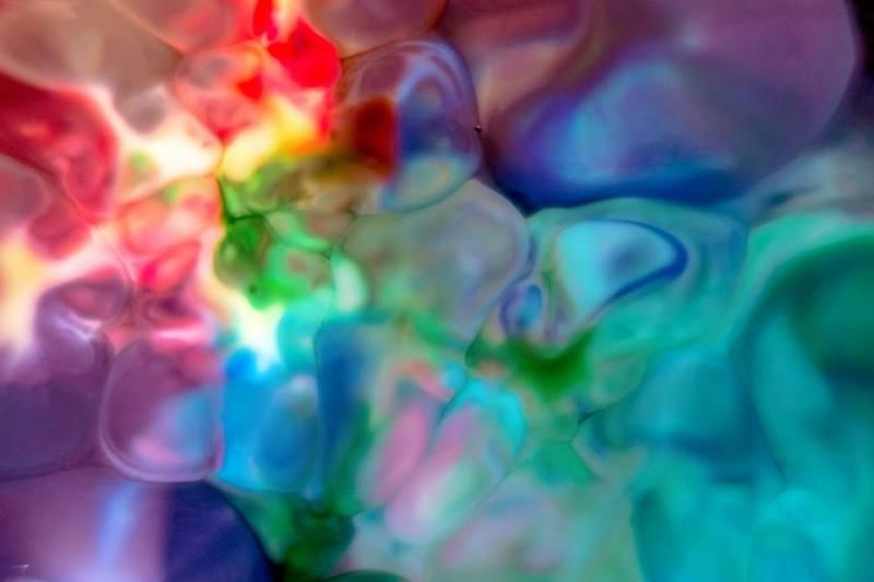 André castellan bolhas coloridas