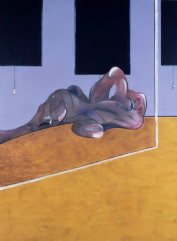 Lying Figure in a Mirror, Francis Bacon