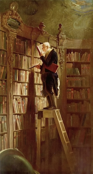 The Book Worm, obra de Carl Spitzer