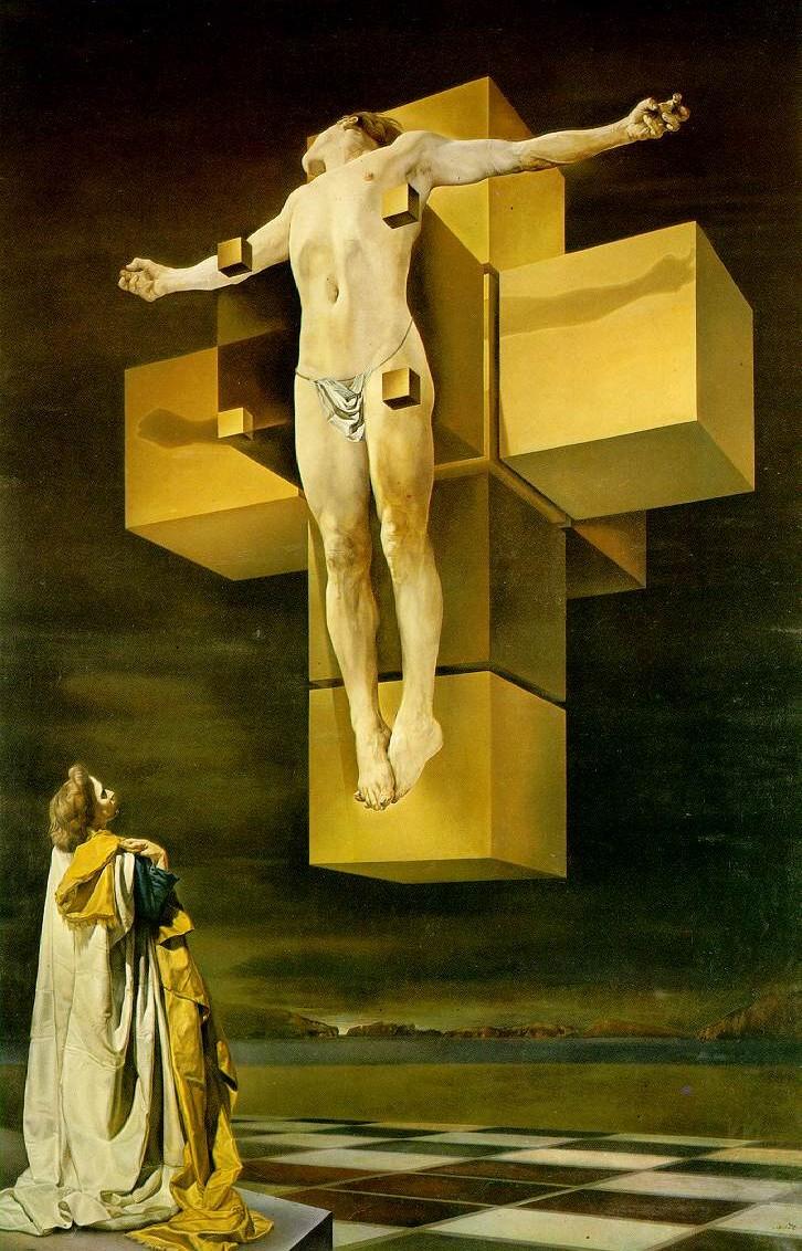 Cristo Hipercubo, de Salvador Dali