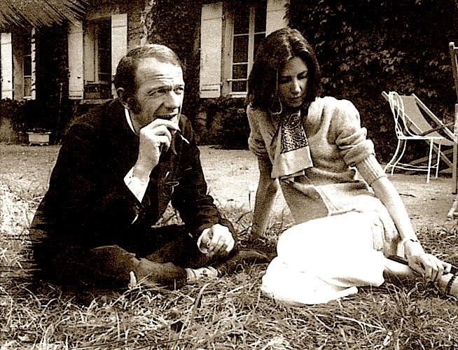 Deleuze e Fanny, sua mulher, foto de 1969