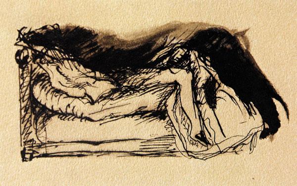 A cama desfeita, Paul Valery