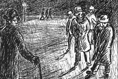 """Gravura do livro """"Memórias do Subsolo"""" de Dostoiévski.  Para Nietzsche, este livro representava a descrição perfeita do homem ressentido."""