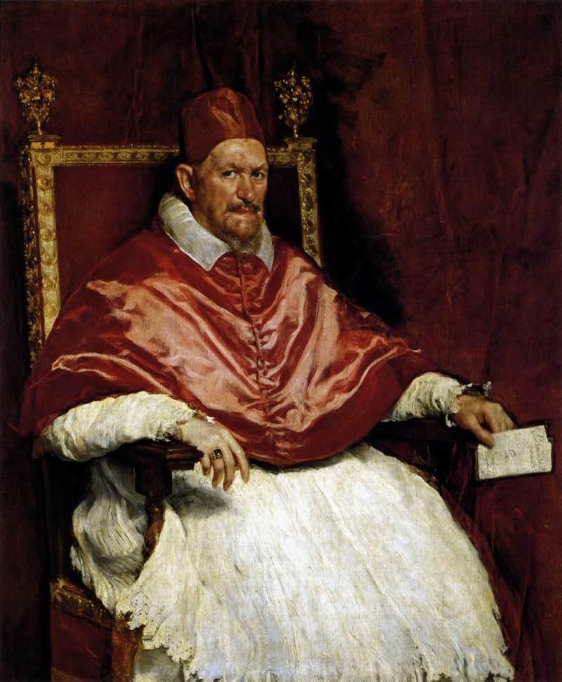 Papa Inocêncio X, Velasquez