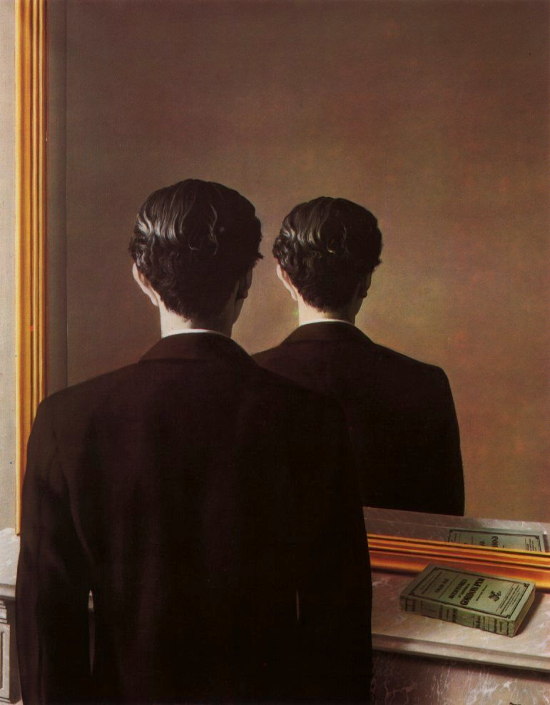 René Margritte, Not to be reproduced, 1937