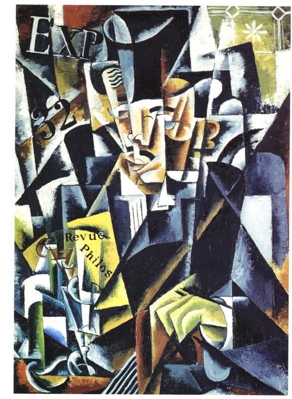 - portrait of a philosopher, Lyubov Popova