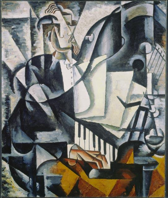 - The Pianist, Lyubov Popova