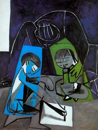 Françoise et Paloma, Picasso : Cenas de uma infância ..