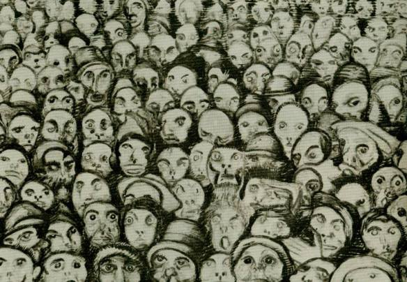 Art Josef Vachal, Cry of the Masses
