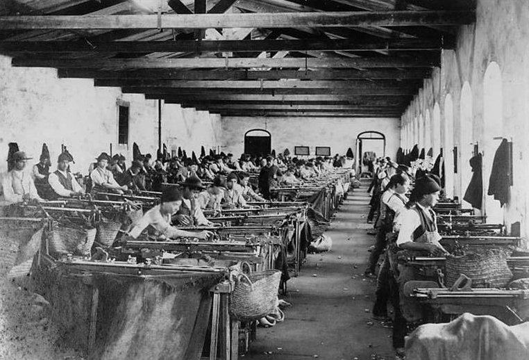 fabrica_na_revolução industrial