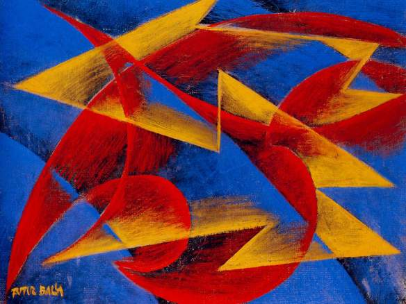 Line of speed - Giacomo Balla