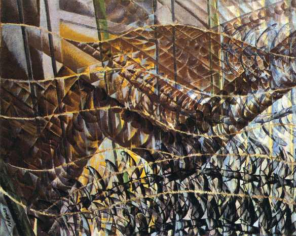Swifts: Paths of Movement + Dynamic Sequences - Giacomo Balla