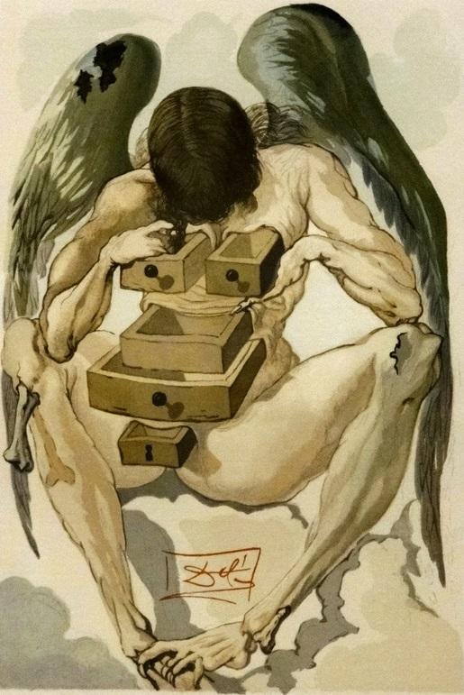 Outra pintura de Dali para a mesma série