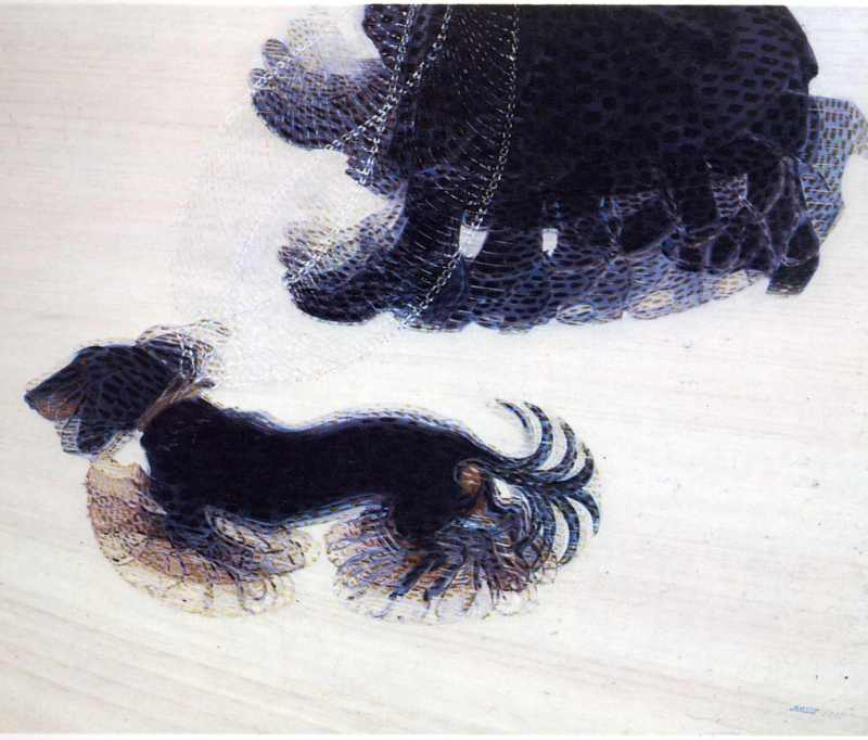 Giacomo Balla - dinamismo de um cachorro na coleira