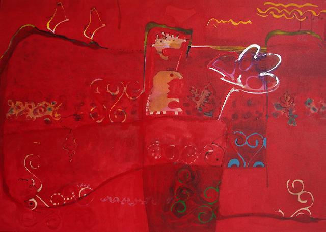 - tela de Martha Barros