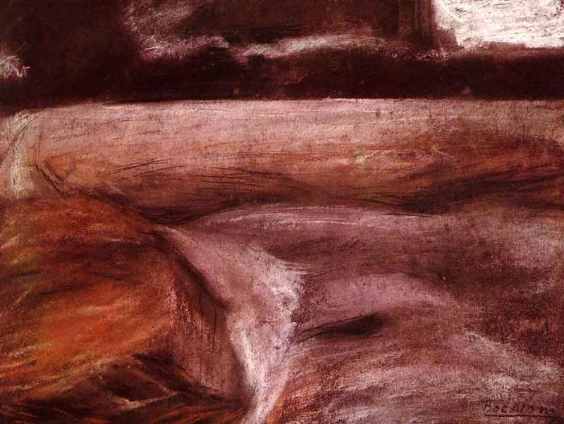 Campagna - Umberto Boccioni