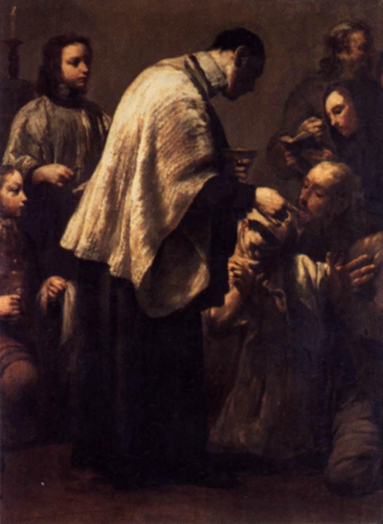 Giuseppe Maria Crespi - Comunhão