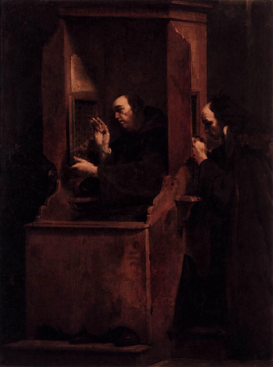 Confissão - Giuseppe Crespi