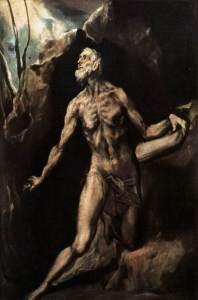 São Jerônimo Penitente - El Greco