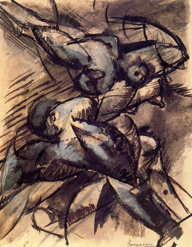 Dynamic Decomposition - Umberto Boccioni