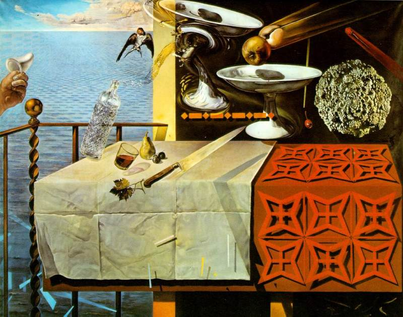 Dalí - Nature Morte Vivante