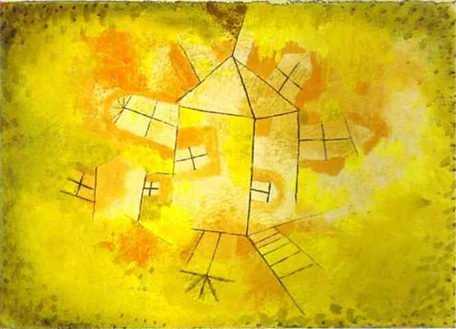 - Revolving House, Paul Klee