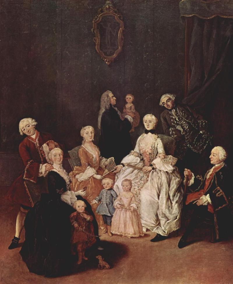 a patrician family, Pietro Longhi