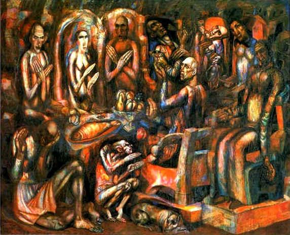 - Feast of Kings, 1913, Pavel Filinov