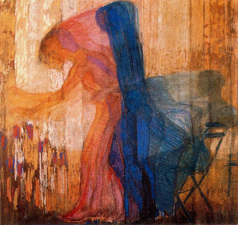 Frantisek Kupka - Woman Picking Flowers