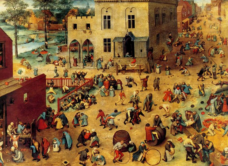 Pieter Bruegel, Children's Game