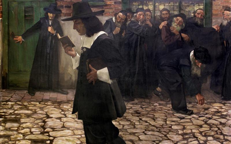 Samuel Hirszenberg, Spinoza (1907)