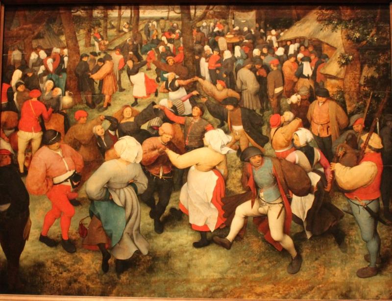 Pieter Bruegel - The Wedding Dance