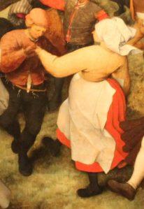 Pieter Bruegel - The Wedding Dance - detail
