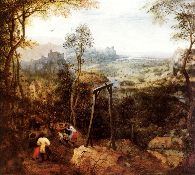 Pieter Bruegel - The Magpie on the Gallows