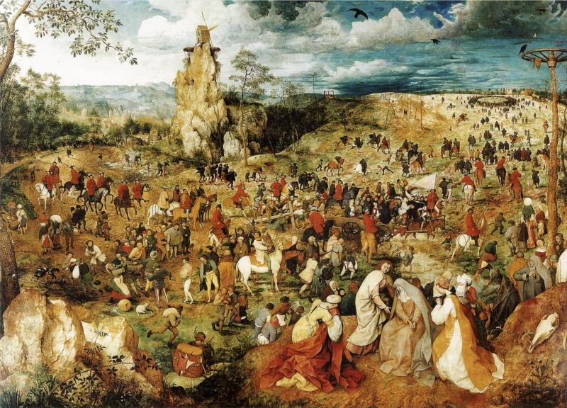 """- """"A Procissão do Calvário"""" - Pieter Bruegel"""