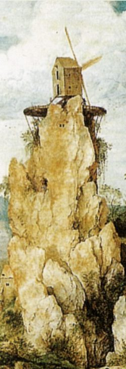 """- """"A Procissão do Calvário"""" - Pieter Bruegel (detalhe)"""