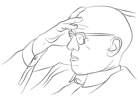 foucault-coloring-page